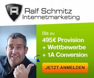 Ralf Schmitz excellentes Partnerprogramm mit Top Provisionen